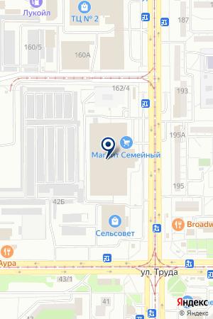 МАГАЗИН КНИГОМИР-4 на карте Магнитогорска
