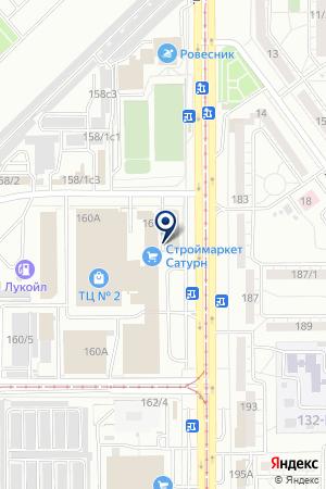 Ламин`АРТ на карте Магнитогорска
