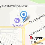 Магазин-склад фруктов на карте Магнитогорска