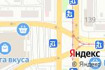 Схема проезда до компании Окна Двери ФАВОРИТ в Магнитогорске