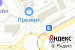 Схема проезда до компании Киоск по продаже фруктов и овощей в Магнитогорске