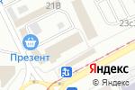 Схема проезда до компании Апшерон в Магнитогорске