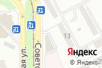 Схема проезда до компании Три шурупа в Магнитогорске