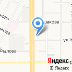Авеню на карте Магнитогорска