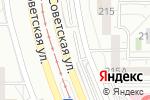 Схема проезда до компании Автостоянка на Советской в Магнитогорске