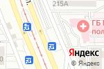 Схема проезда до компании ЛЮКС FLORA в Магнитогорске