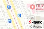 Схема проезда до компании Сдобнофф в Магнитогорске