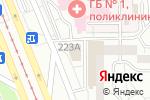 Схема проезда до компании Монетка в Магнитогорске