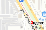 Схема проезда до компании АВАНГАРД в Магнитогорске