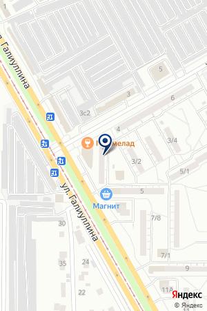 КОМПАНИЯ ПАРИТЕТ на карте Магнитогорска