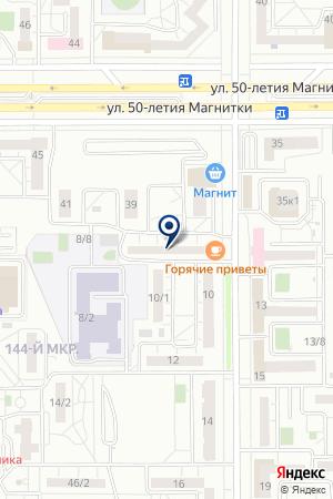 ЖЭУ N 39 на карте Магнитогорска