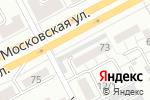 Схема проезда до компании Московская в Магнитогорске
