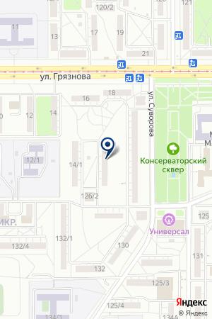 СПОРТИВНЫЙ КЛУБ РОВЕСНИК на карте Магнитогорска