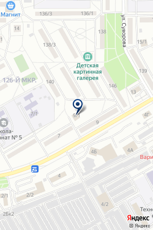 ДЕТСКАЯ ХУДОЖЕСТВЕННАЯ МАСТЕРСКАЯ на карте Магнитогорска
