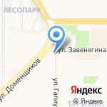 Сбербанк на карте Магнитогорска