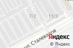 Схема проезда до компании СТАЛЬ в Магнитогорске