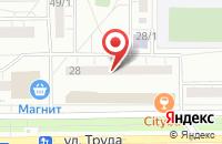 Схема проезда до компании Лига Профи в Магнитогорске