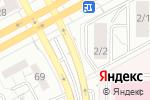 Схема проезда до компании Автостоянка на Московской в Магнитогорске