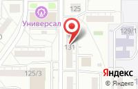 Схема проезда до компании Обозреватель в Магнитогорске