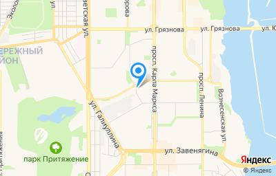 Местоположение на карте пункта техосмотра по адресу Челябинская обл, г Магнитогорск, ул Советской Армии, д 6/4