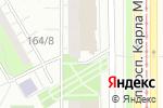 Схема проезда до компании Студия дизайна в Магнитогорске