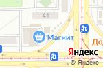 Схема проезда до компании Цветочный павильон в Магнитогорске