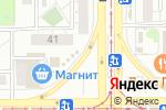 Схема проезда до компании Райский сад в Магнитогорске