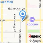 Транспортная компания на карте Магнитогорска
