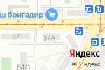 Схема проезда до компании Двери Верда в Магнитогорске