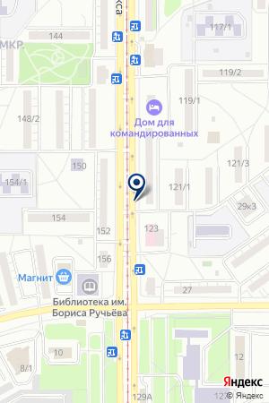 МАГАЗИН КОЛИБРИ-ТКАНИ на карте Магнитогорска