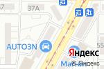 Схема проезда до компании ДРУГ в Магнитогорске