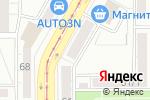 Схема проезда до компании Центр страховых услуг в Магнитогорске
