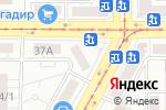 Схема проезда до компании NailZone в Магнитогорске