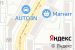 Схема проезда до компании Энергогарант в Магнитогорске