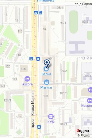 GLOBALPATENT, ПАТЕНТНОЕ БЮРО на карте Магнитогорска