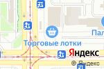 Схема проезда до компании Киоск по ремонту обуви и изготовлению ключей в Магнитогорске