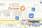 Схема проезда до компании ДеньгоЗайм в Магнитогорске