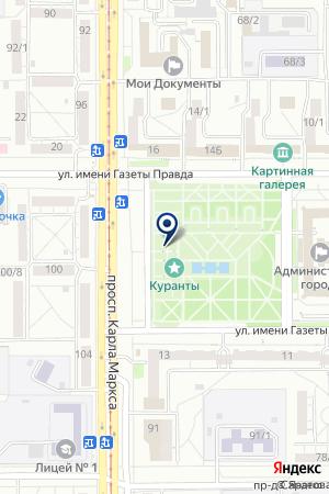 BITSTOP на карте Магнитогорска