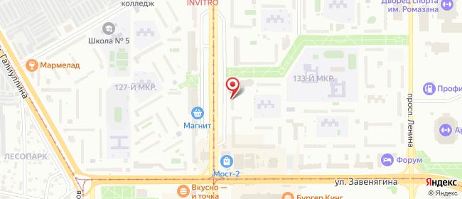 Карта расположения пункта доставки Магнитогорск Карла Маркса в городе Магнитогорск
