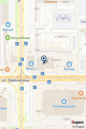 TeaBet на карте Магнитогорска
