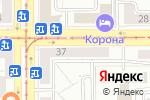 Схема проезда до компании Кредит Урал Банк в Магнитогорске