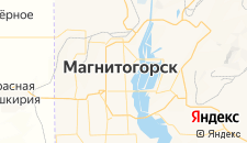 Гостиницы города Магнитогорск на карте
