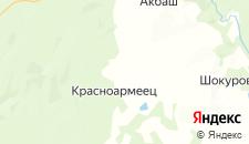 Гостиницы города Перепряжка на карте