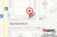 Схема проезда до компании Альпиндустриал-Т в Магнитогорске