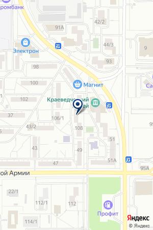 ДЕТСКИЙ КЛУБ ФЕНИКС на карте Магнитогорска
