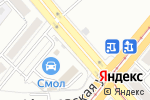 Схема проезда до компании Борское автостекло в Магнитогорске