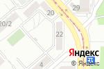 Схема проезда до компании Росинка в Магнитогорске