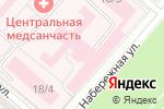 Схема проезда до компании Центральная медико–санитарная часть в Магнитогорске