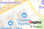 Схема проезда до компании Компания по продаже металлопроката в Магнитогорске