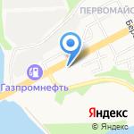Чистюля на карте Магнитогорска